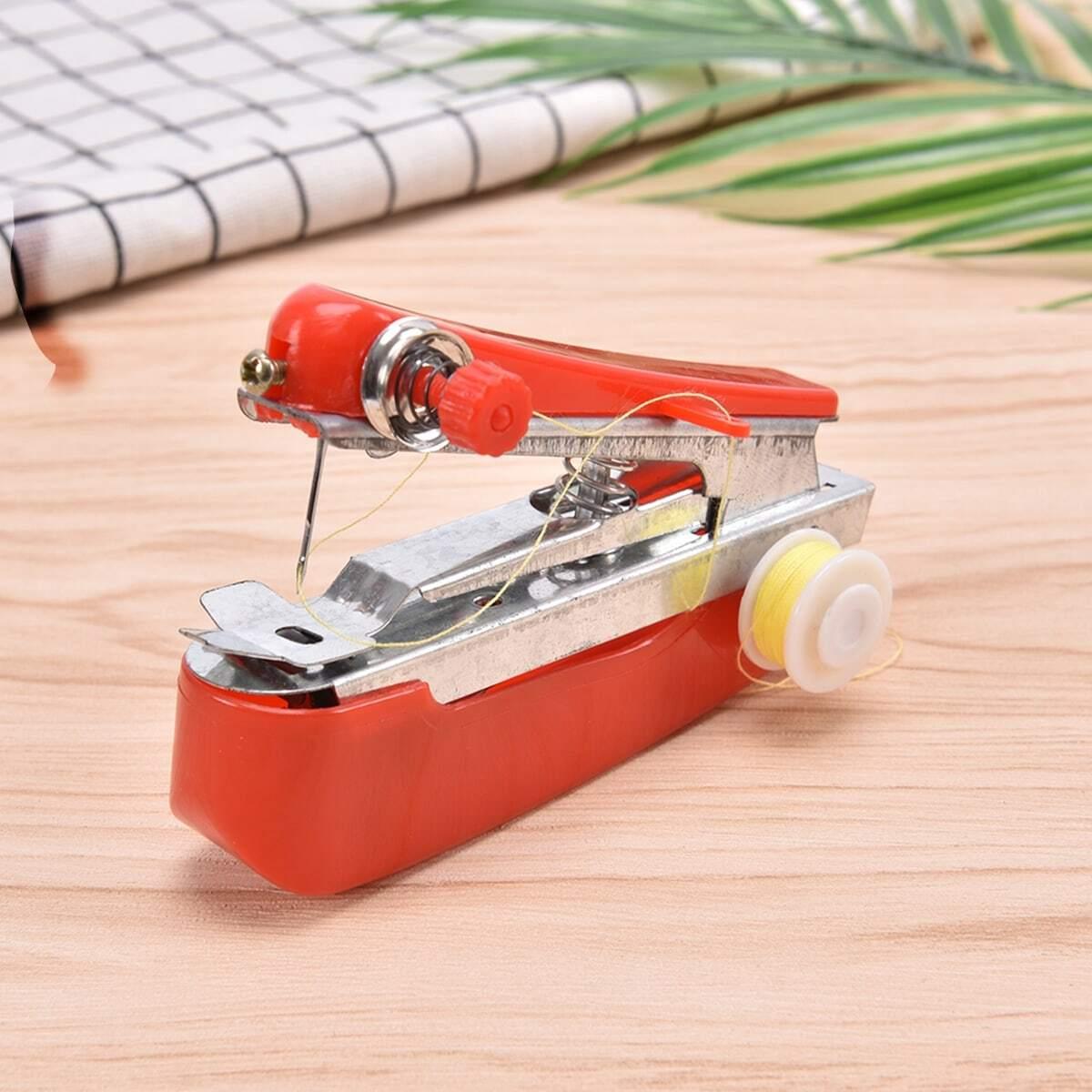 Mini draagbare handbediende naaimachine