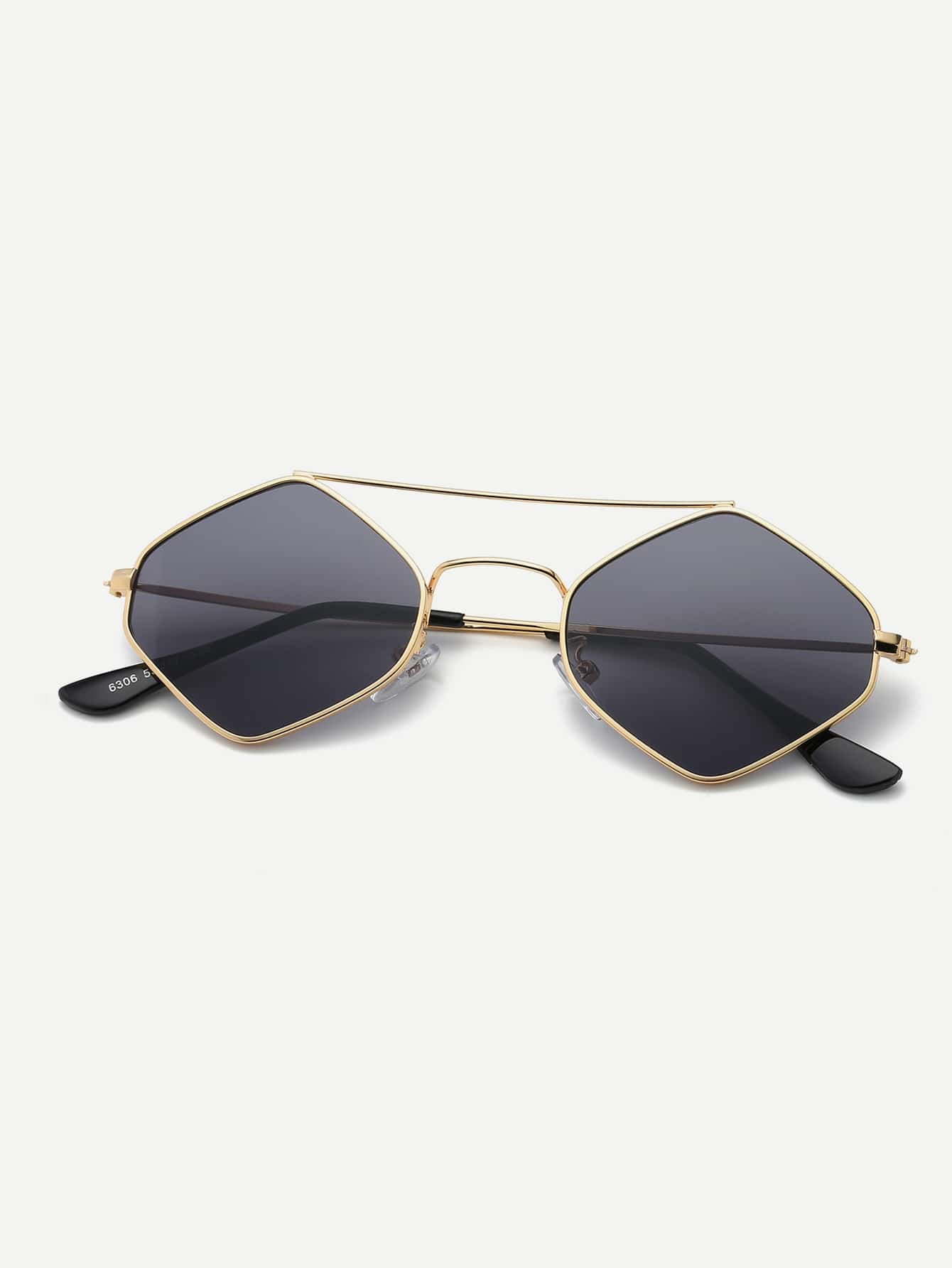 Купить Мужские солнцезащитные очки с бриллиантами, null, SheIn