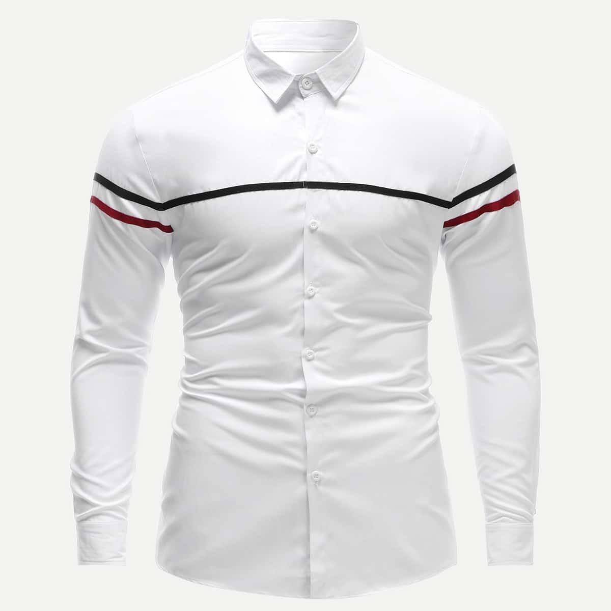 Wit Op de werkvloer Overhemden voor heren