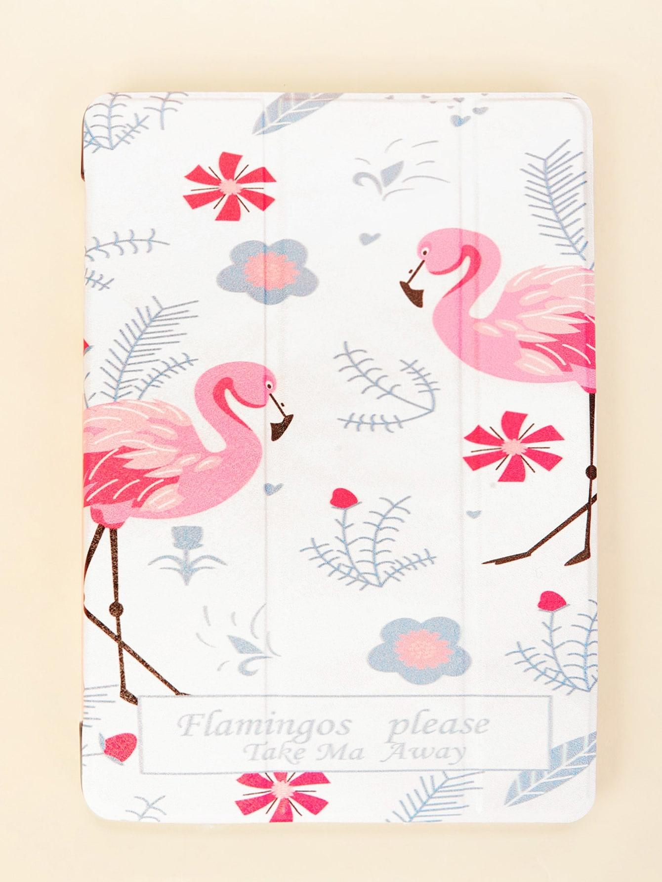 Flamingo Pattern iPad Case null