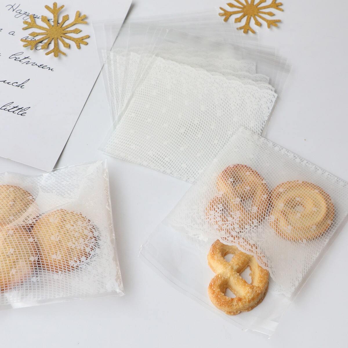 Kant print koekjes pakket zak 100st