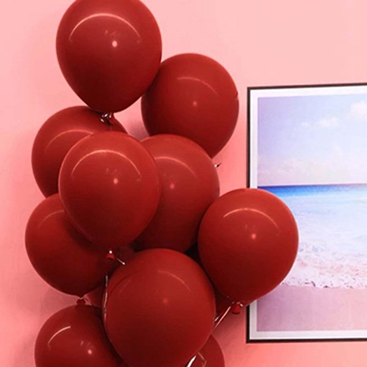 SHEIN / Feste dekorative Luftballons 10St