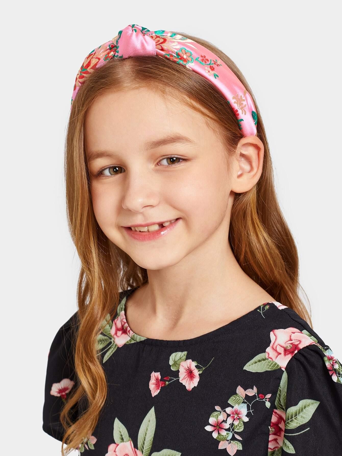 Купить Девушки Цветочная вышивка, null, SheIn