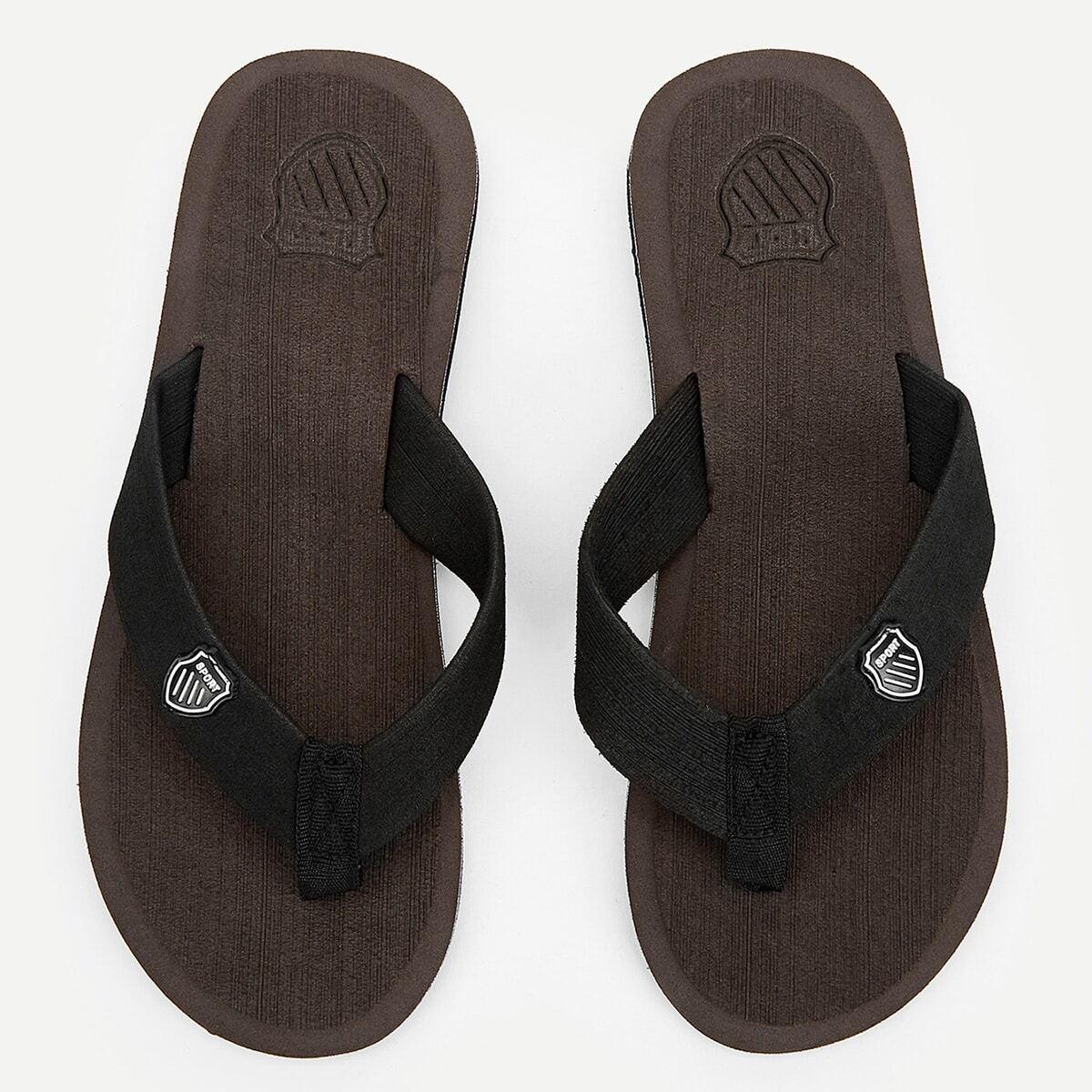 PU-detail Flip-flops voor heren