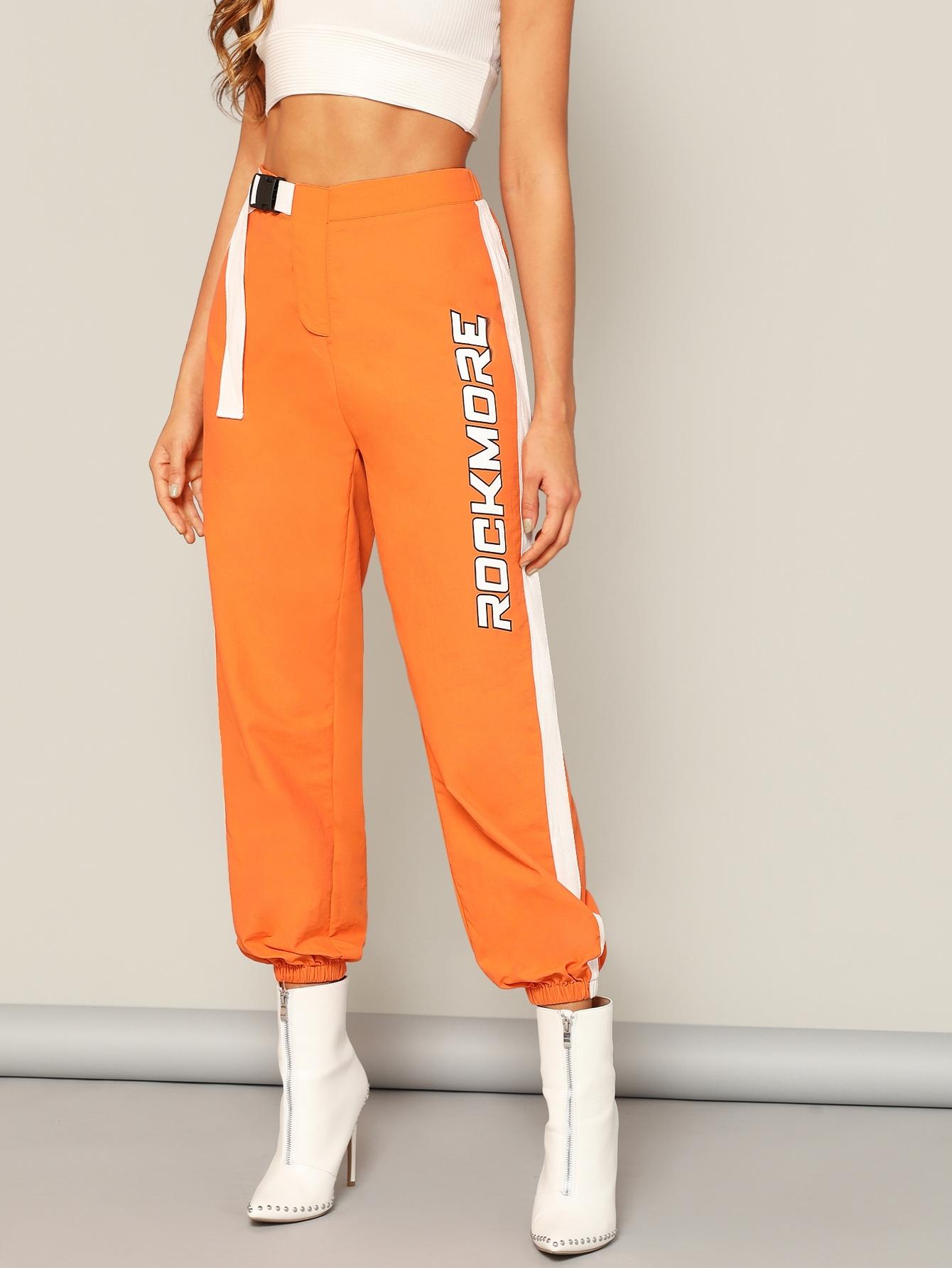 Брюки  Оранжевый цвета