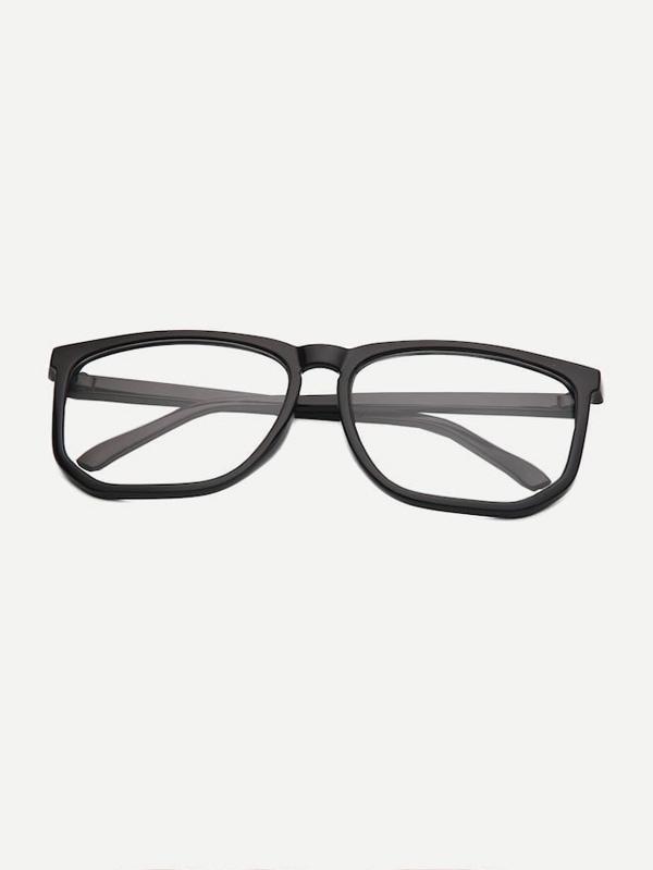 Купить Для мужчин солнцезащитные очки с простой рамкой, null, SheIn
