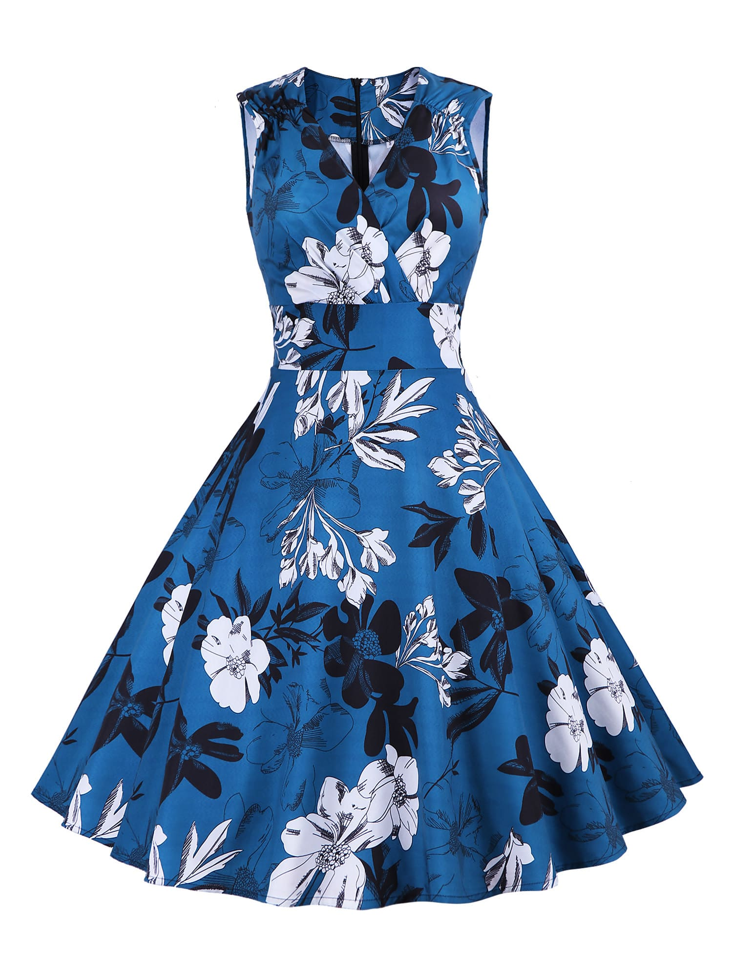 Платье  Синие цвета
