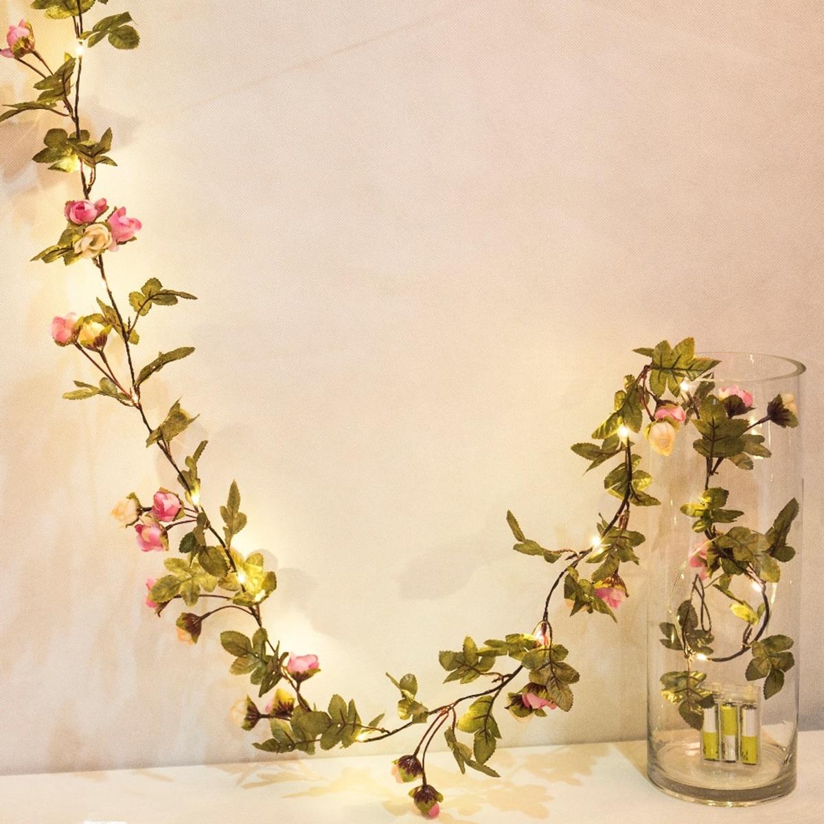 20st Bulb Flower String Light