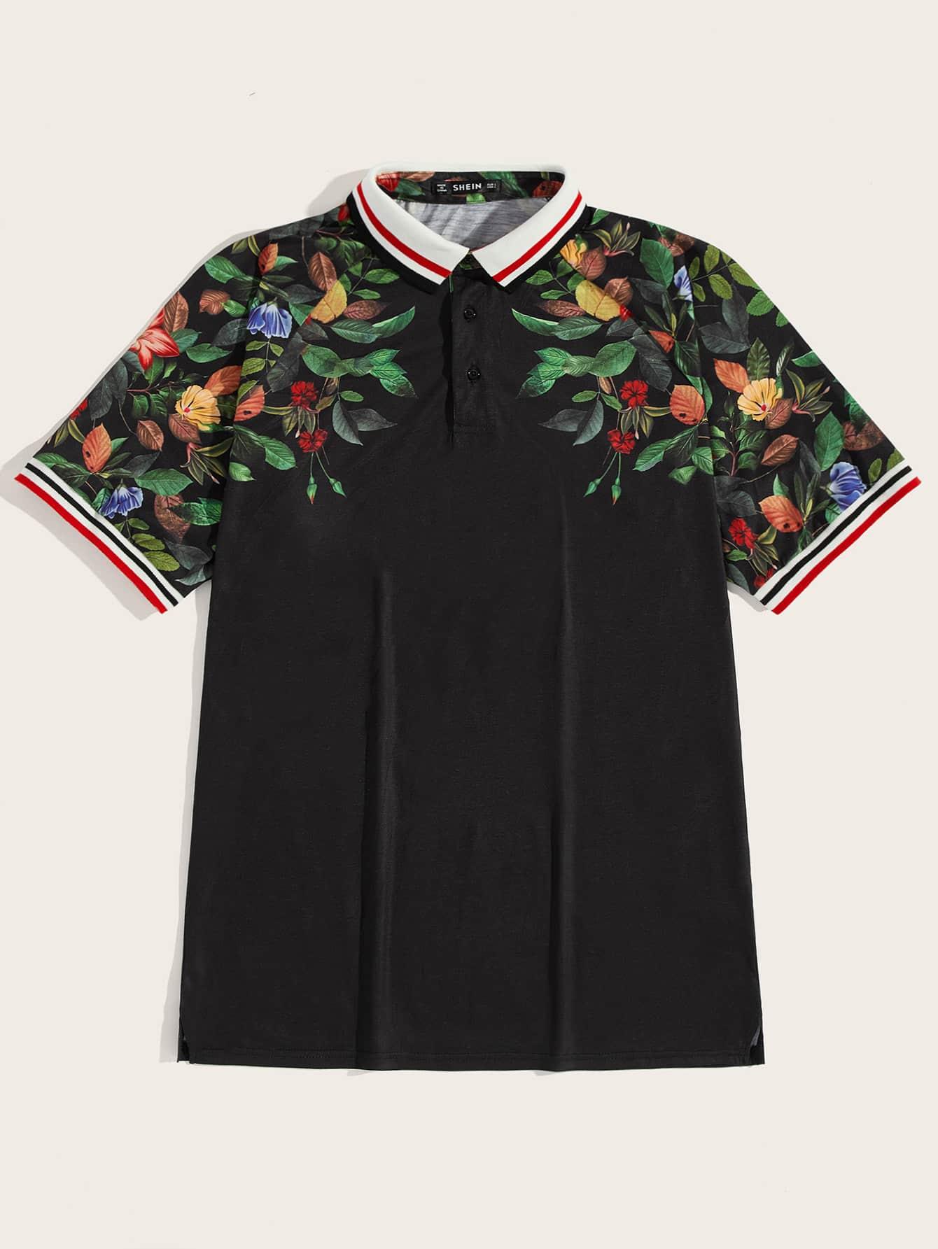 8885d3ac6 Floral Polo Shirts
