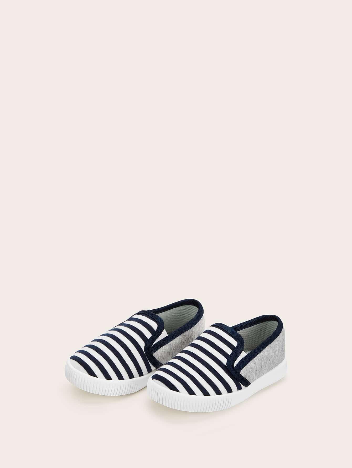 Купить Детские полосатые кроссовки в полоску, null, SheIn