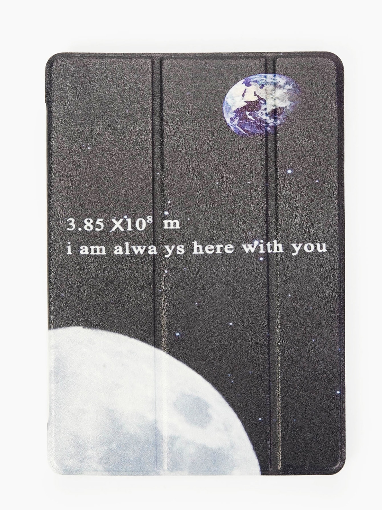 Letter & Planet Pattern iPad Case null