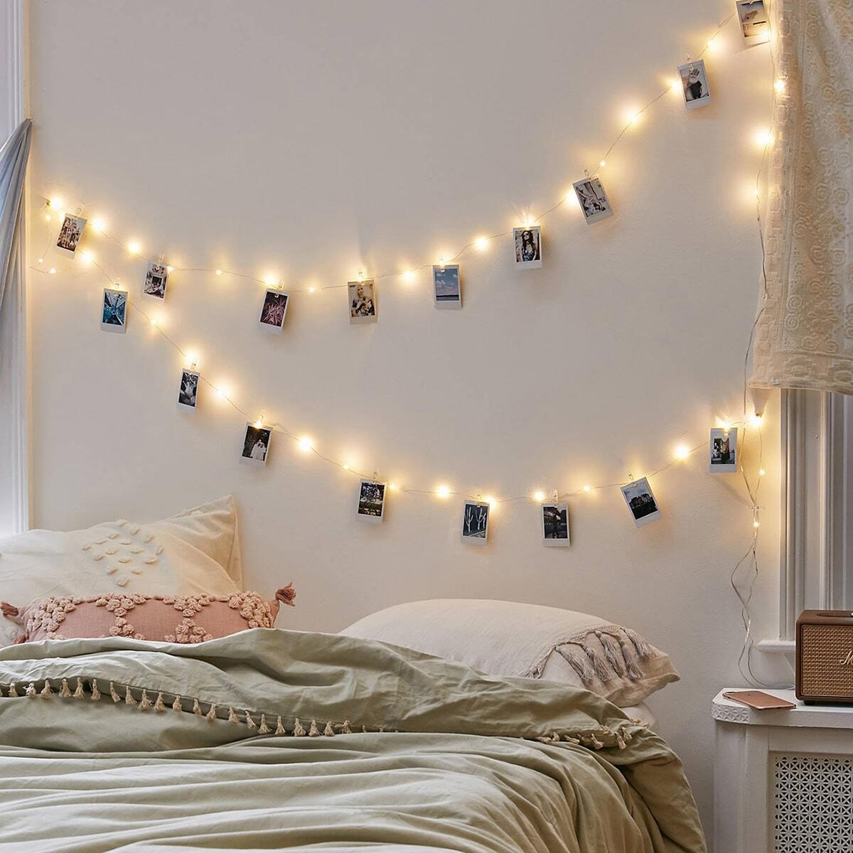 20st Bulb String Light & 20pcs Clip