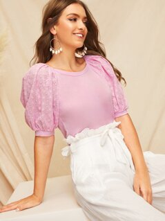 Schiffy Puff Sleeve Top