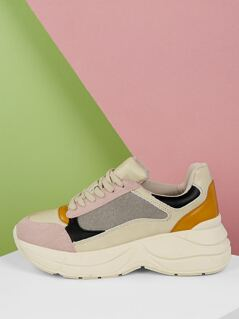 Lace Front Chunky Sold Trainer Dad Sneakers