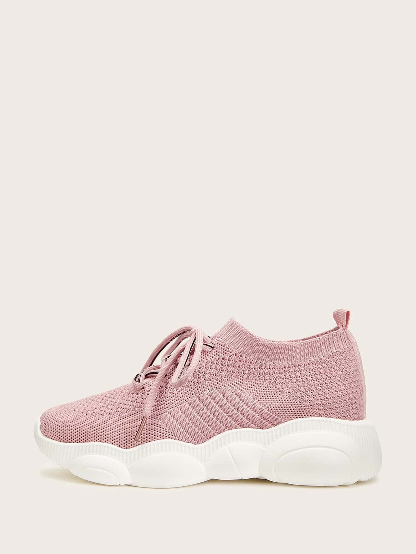 Кеды  Розовый цвета
