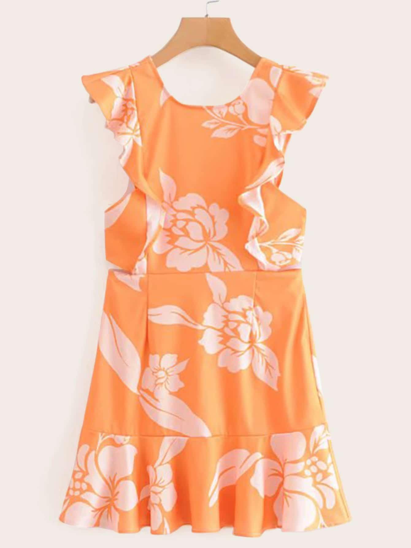 Платье  Оранжевые цвета
