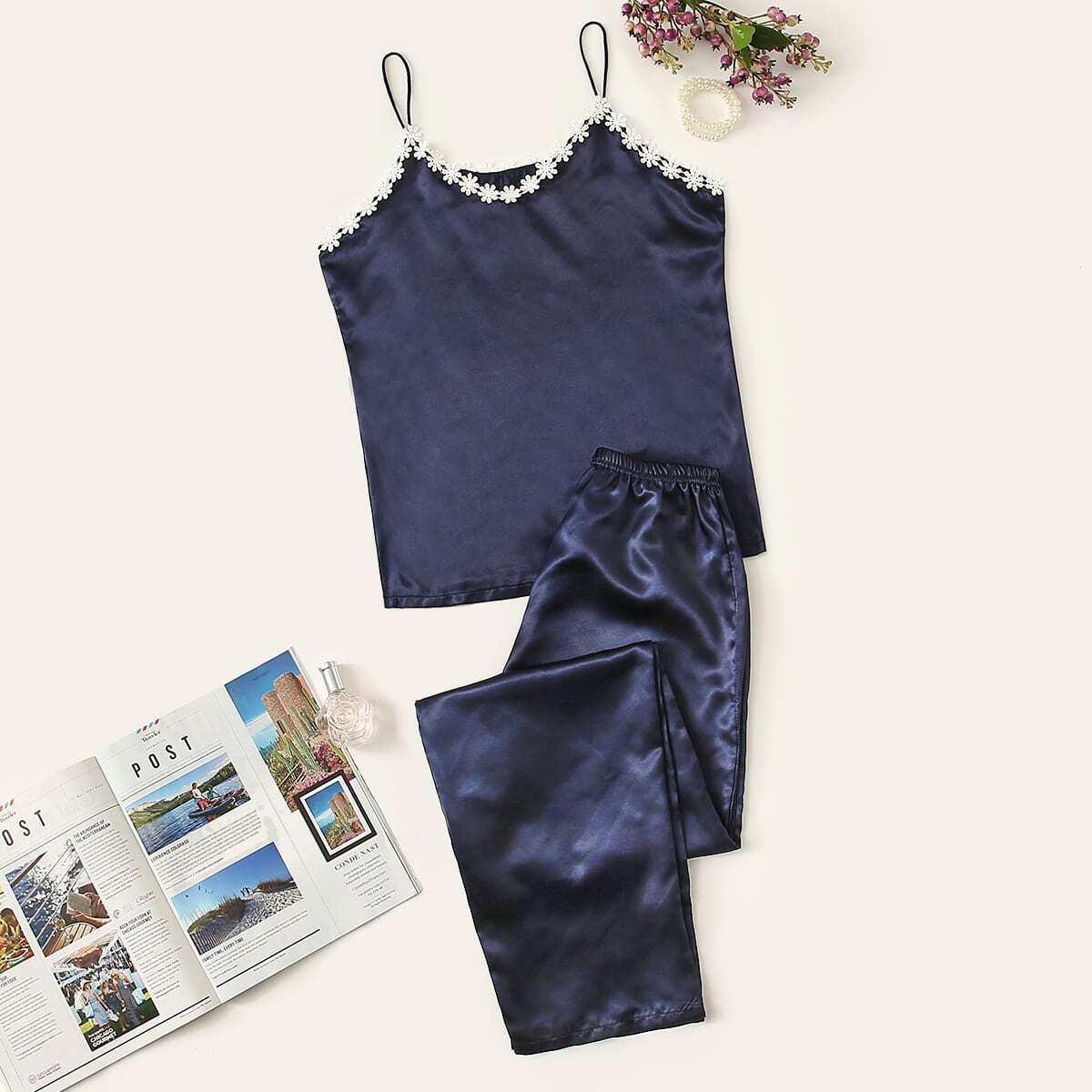 Marine Casual Vlak Lounge kleding