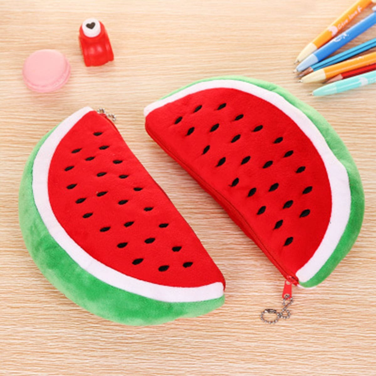 Watermeloengevormde etui 1pc