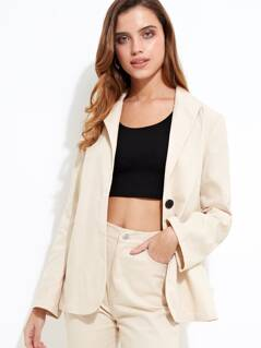 Nude Tailored Blazer