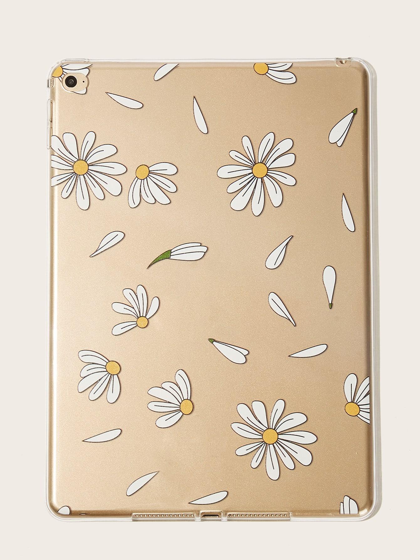 Daisy Pattern iPad Case null
