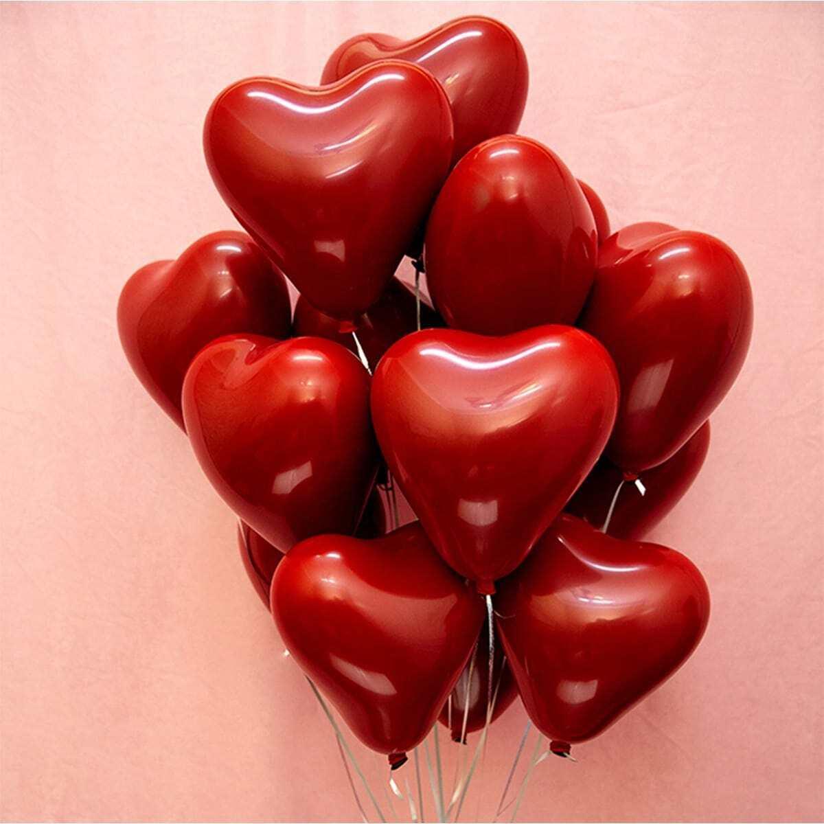 Сердце воздушный шар 10шт.