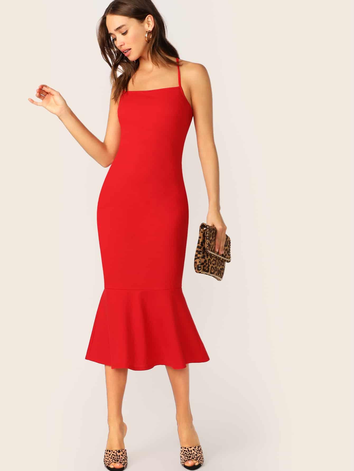 Платье-комбинация русалки
