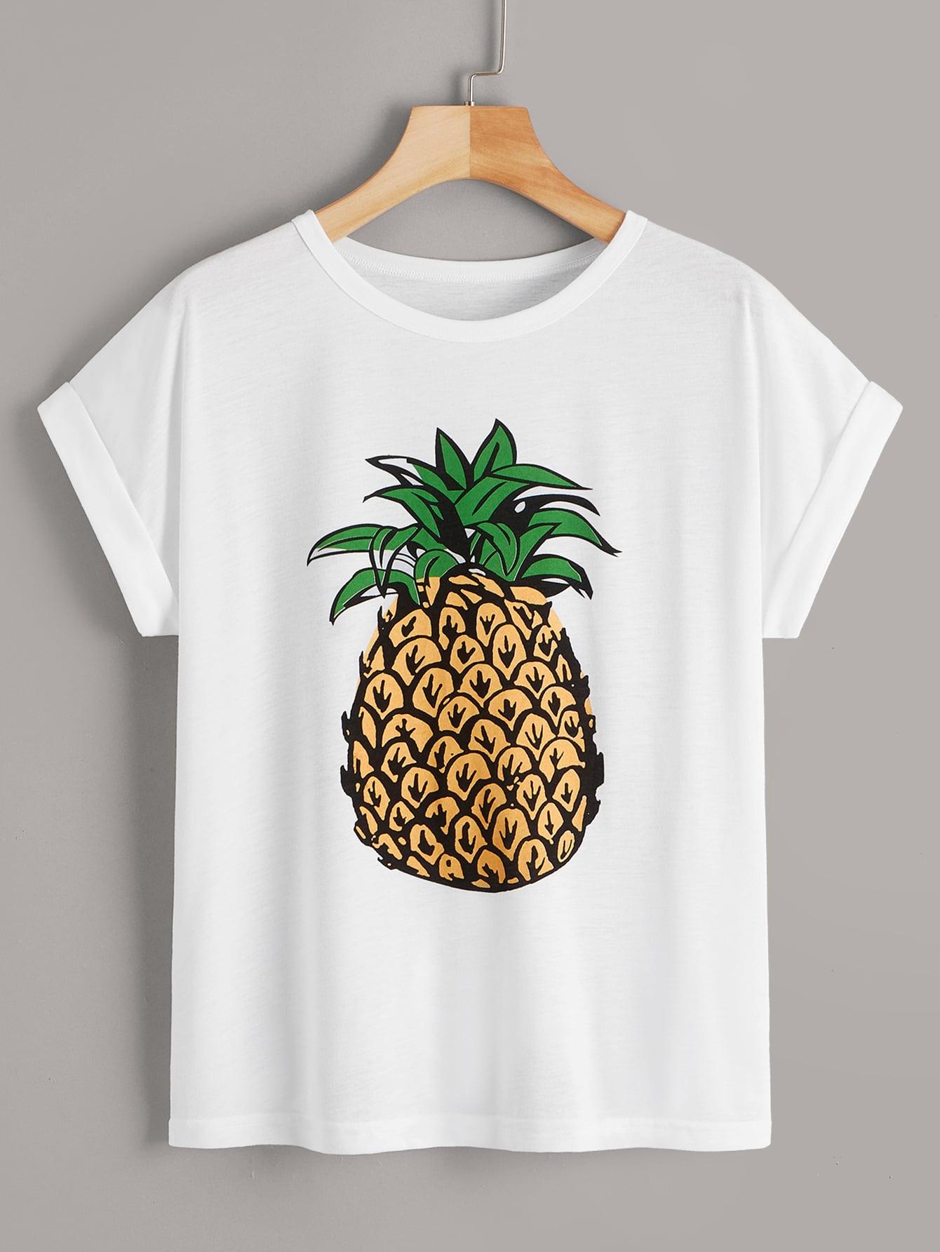 4bff20c5108 Pineapple Print Tee
