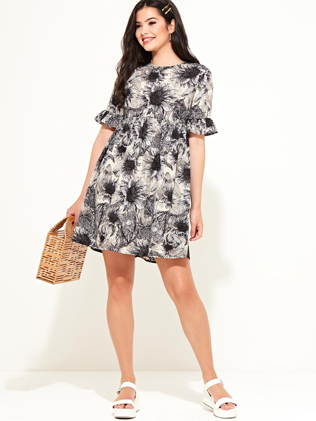 Фото - Платье с принтом