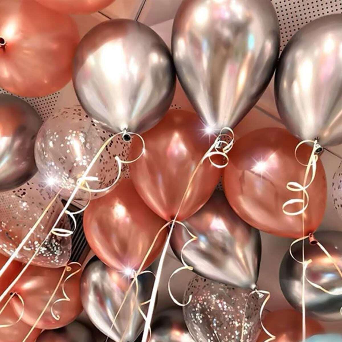 Decoratieve ballon set 15 stuks