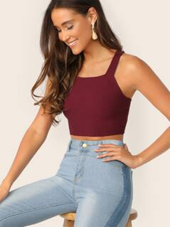 Slim Fitted Crop Top