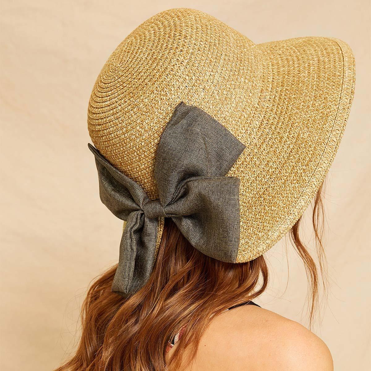 Колпак шляпа с узелом от SHEIN