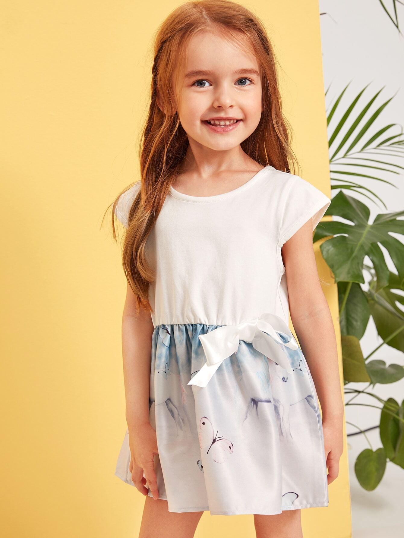 Фото - Платье-футболка с принтом