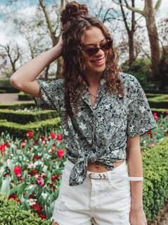 Tropical Short Sleeve Shirt