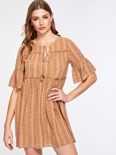 Boho Tassel Dress