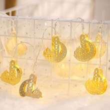 10pcs Castle Bulb String Light