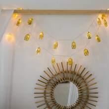 10pcs Oil Lamp Design Bulb String Light