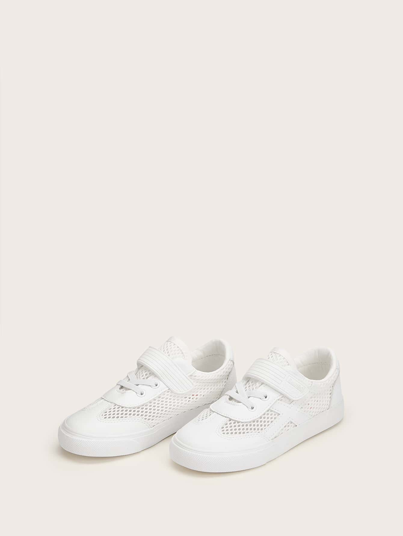 Toddler Mesh Lace-up Sneakers null