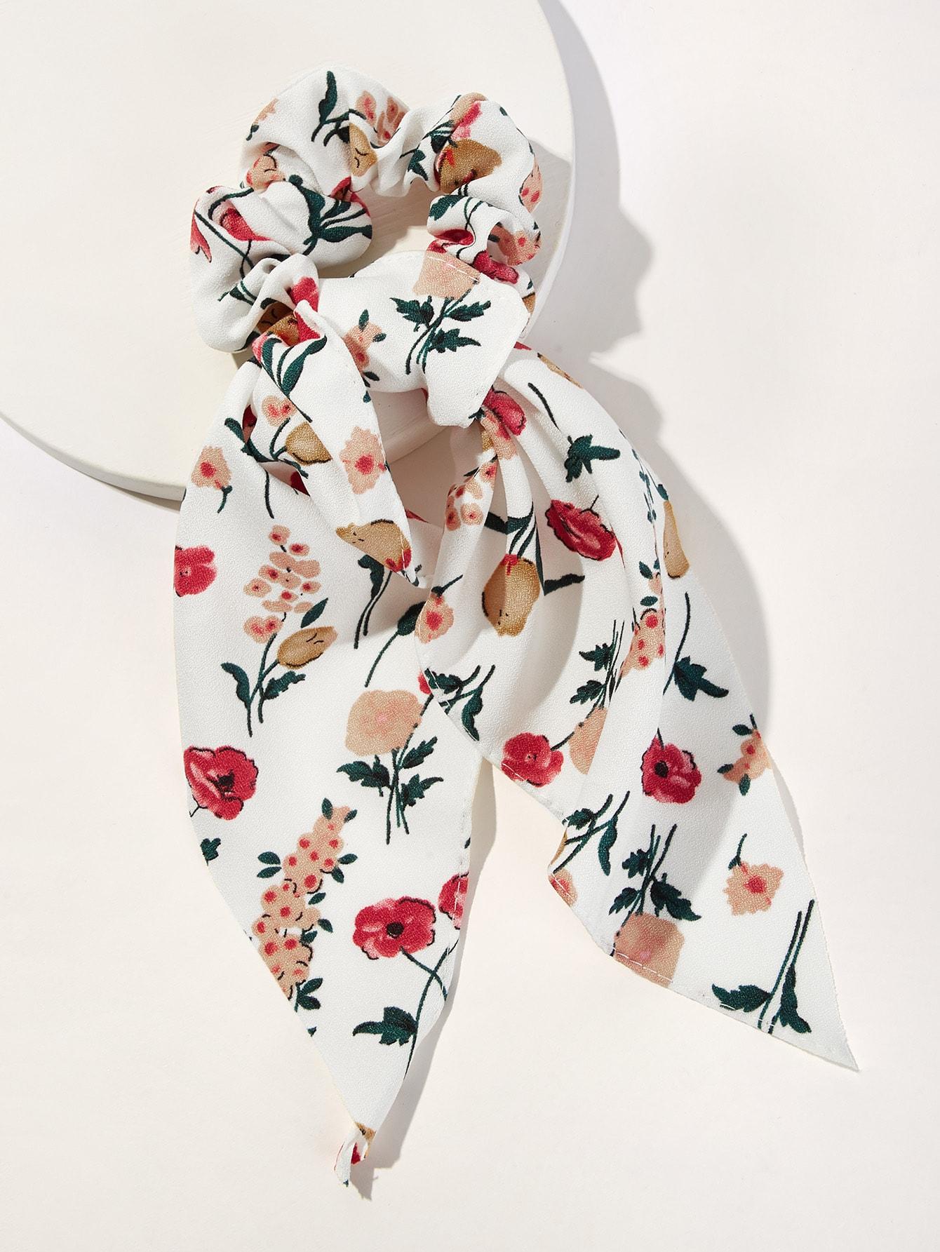 Фото - Повязка на голову с принтом от SheIn цвет многоцветный