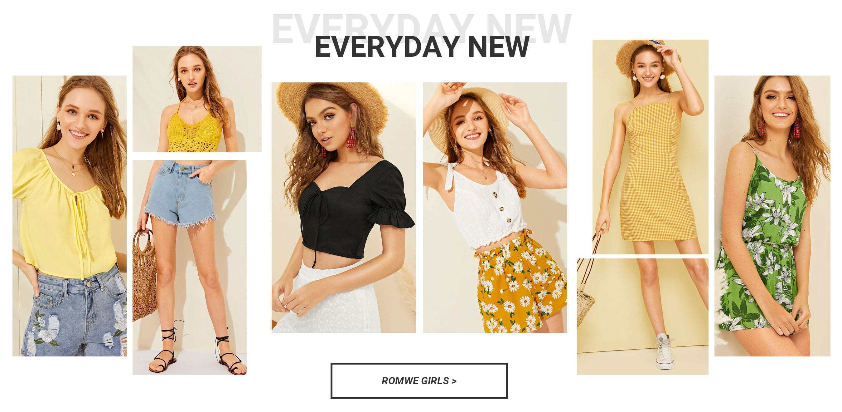 e0b887e0d5f Shop The Latest Girls   Guys Fashion Trends at ROMWE