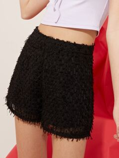 Hairy High Waisted Shorts
