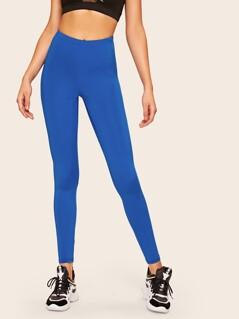 Neon Blue Leggings