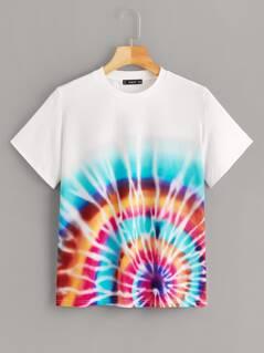 Tie Dye Print Top