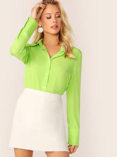 Neon Lime Shirt
