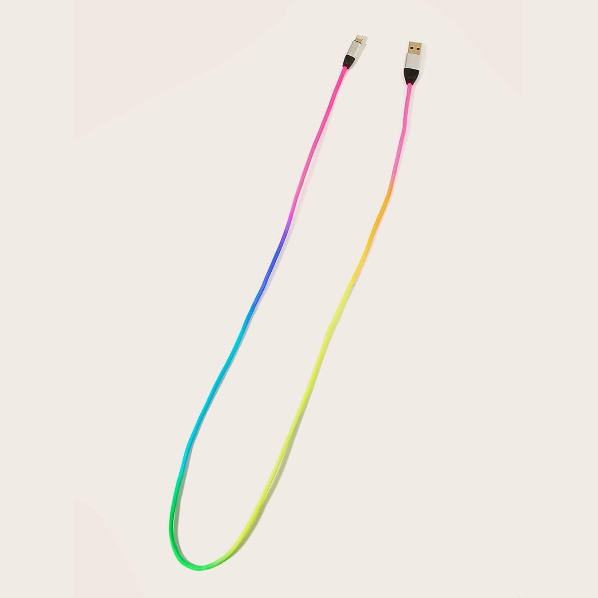 Kleurrijke iPhone-oplaadkabel