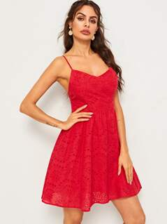 Fit and Flare Schiffy Cami Dress