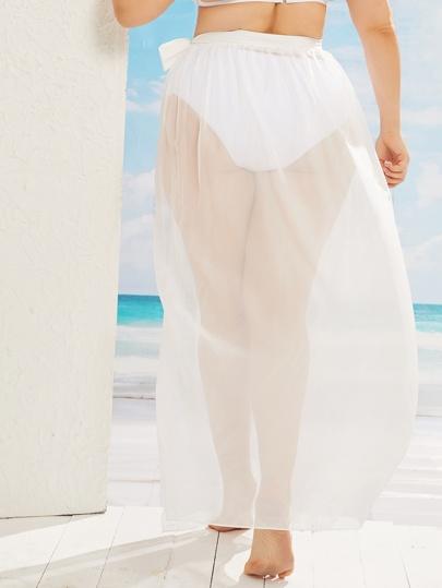 Фото 9 - Платье с многослойными оборками и складками от SheIn цвет фиолетовые