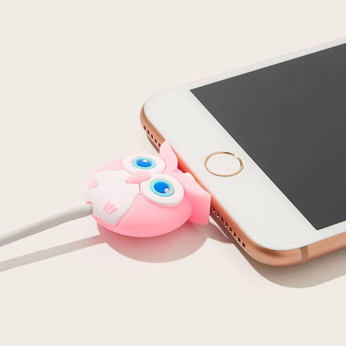 Uil-vormige USB-kabelbeschermer