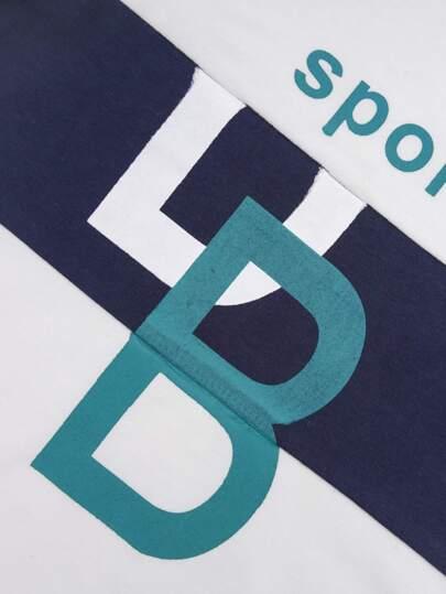 Фото 3 - Однотонная футболка с асимметричным воротником от SheIn коричневого цвета