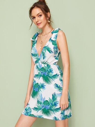 Фото 3 - Контрастная блуза размера плюс с оригинальным рукавом от SheIn цвет чёрные