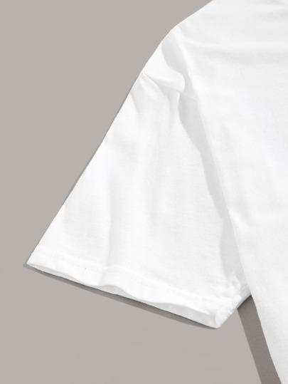 Фото 3 - Блузу в горошек и юбка для девочек от SheIn цвет многоцветный